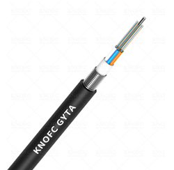 Armored underground fiber optic cable 24 core fiber optic cable GYTA
