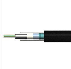 GYXTW Loose Tube 12 Core SM Two Steel Wire Optic Fiber Cable